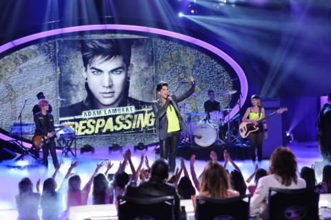 Adam Lambert on American Idol 2012
