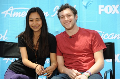 American Idol finale Jessica and Phillip