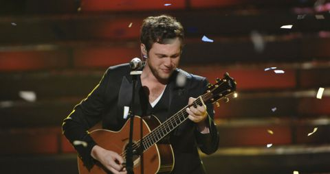 Phillip Phillips on American Idol 2012
