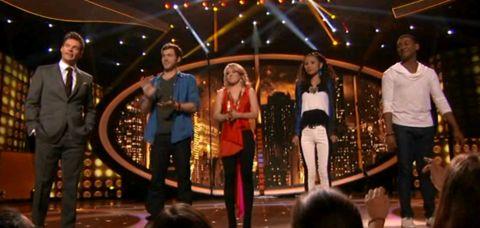 American Idol 2012 Top 4