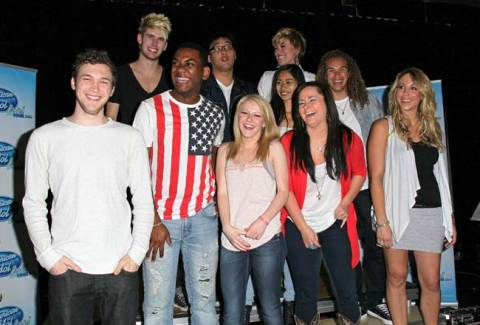 American Idol 2012 Top 10 tour