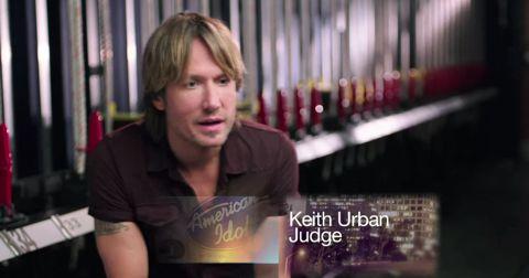 Keith Urban - American Idol judge
