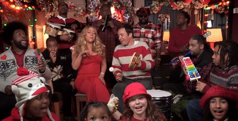 American Idol judge Mariah Carey - Christmas