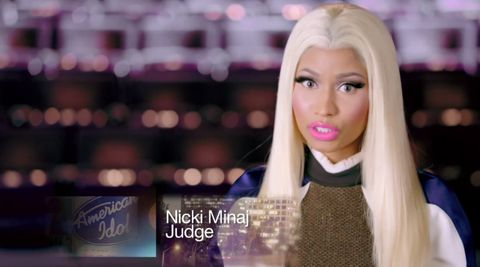 Nicki Minaj on American Idol 2013