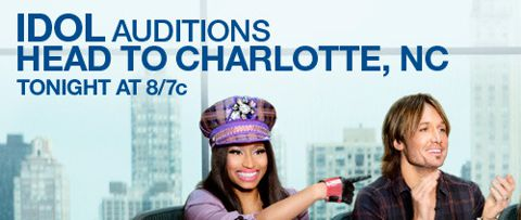 American Idol 2013 auditions in Charlotte