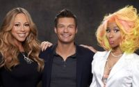 Mariah Carey and Nicki Minaj on American Idol