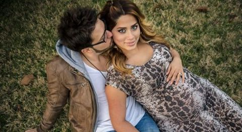 Danny Gokey and wife Leyicet