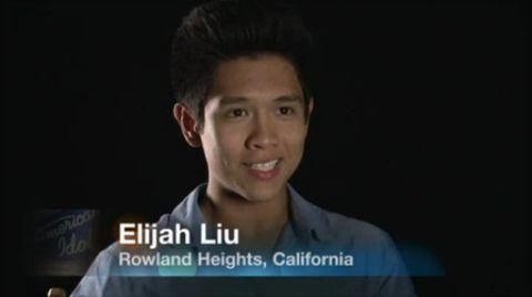 Elijah Liu on American Idol