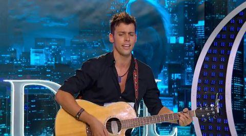 Evan Ruggiero on American Idol 2013