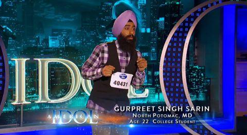 Gurpreet Singh Sarin auditions on American Idol