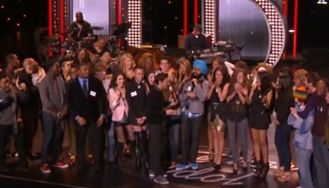 American Idol 2013 Top 40 group