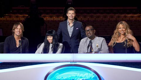 American Idol 2013 judges & host
