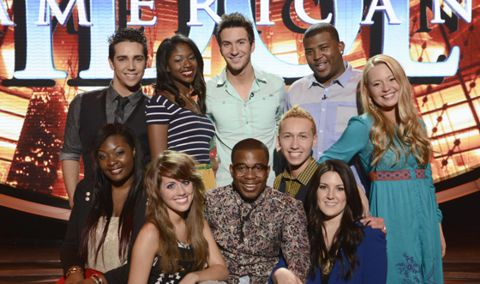 American Idol 2013 Top 10 finalists