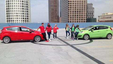 American Idol Top 6 & Ford Fiesta