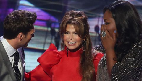 Paula Abdul on American Idol