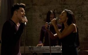 Adam Lambert auditions as Starchild on Glee