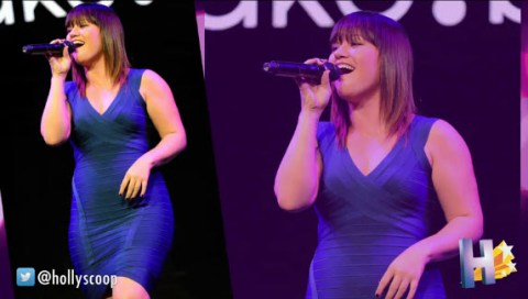 Kelly Clarkson - Source: AOL On Network/Hollyscoop