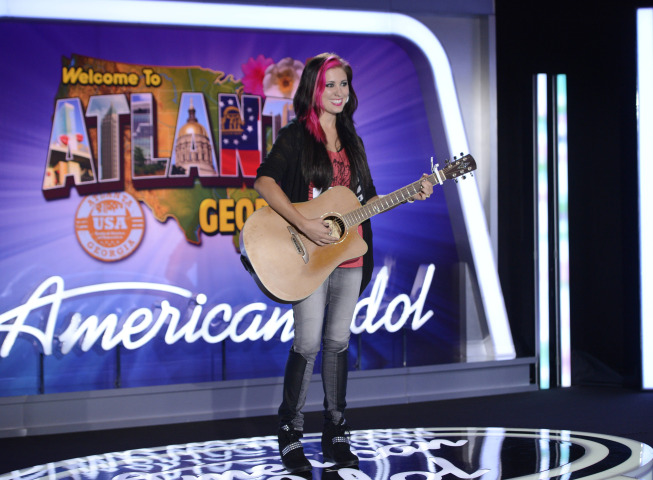 Jessica Meuse auditions