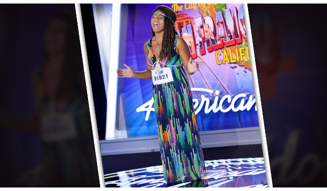 Amber-Renee Dundee American Idol 2014 Audition San Francisco