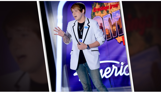 Christopher Jones American Idol 2014 Audition - Source: FOX