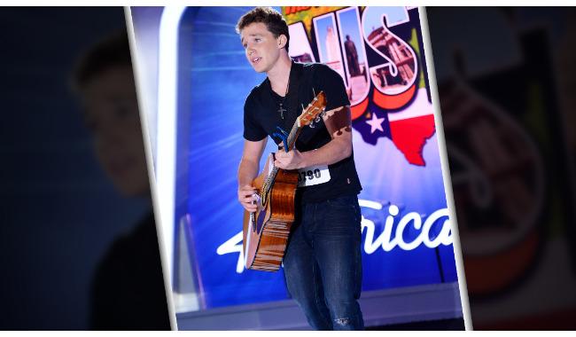 Gian Marco Calderara American Idol 2014 Audition Austin