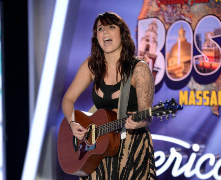 Jillian Jensen American Idol 2014 - Source: FOX