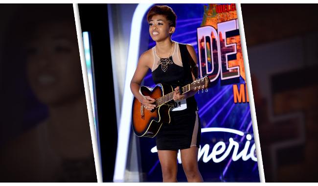 Marrialle Sellars American Idol 2014 Auditions Detroit