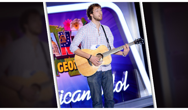 Sam Burchfield American Idol 2014 Audition Atlanta