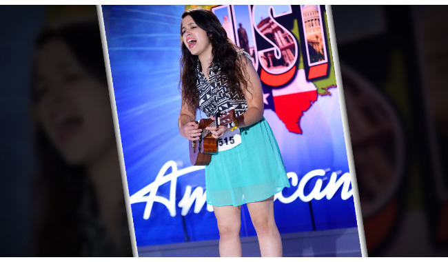 Viviana Villalon American Idol 2014 Audition Austin