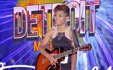 Marrialle Sellars audition - American Idol 2014