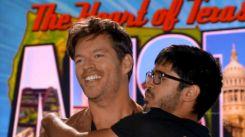 Harry goofs around at Idol 2014 auditions