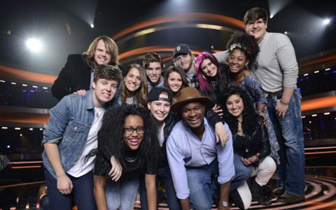 American Idol 2014 Top 13 finalists