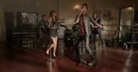Adam Lambert Glee Trio Photos 5