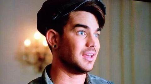 Adam Lambert Glee Trio Photos 9