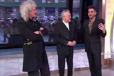 Adam Lambert on Good Morning America