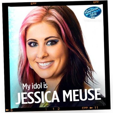 Jessica Meuse on American Idol
