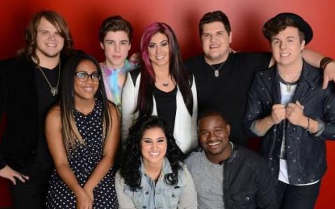 Top 8 on American Idol 2014