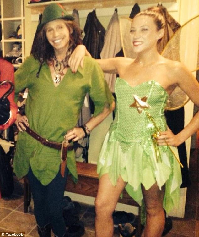 Steven Tyler as Peter Pan