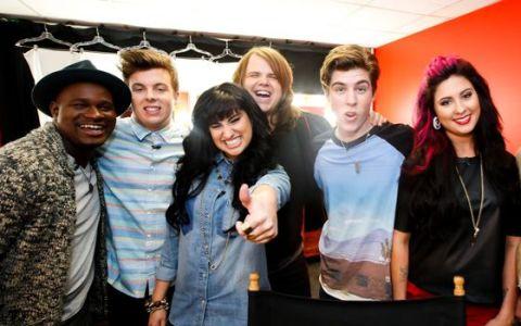American Idol 2014 Top 6 contestants