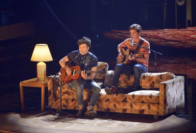 Alex Preston and Sam Woolf