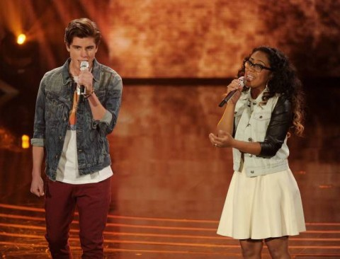 Sam Woolf and Malaya Watson duet