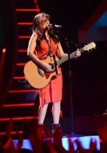 Jessica Meuse performs