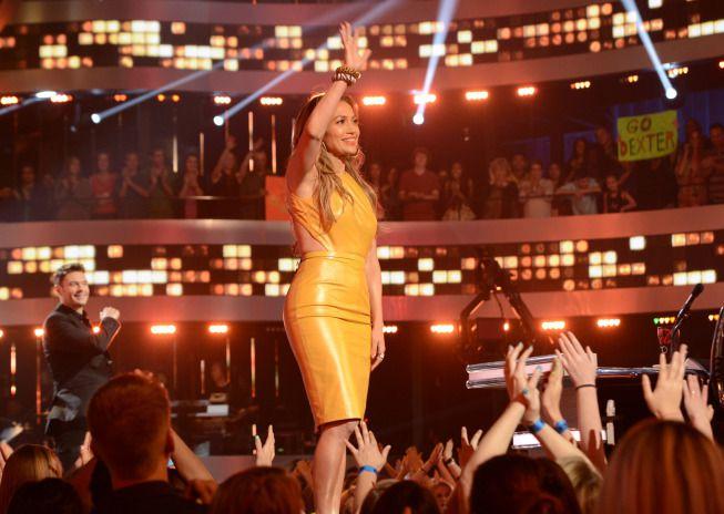 JLo on American Idol