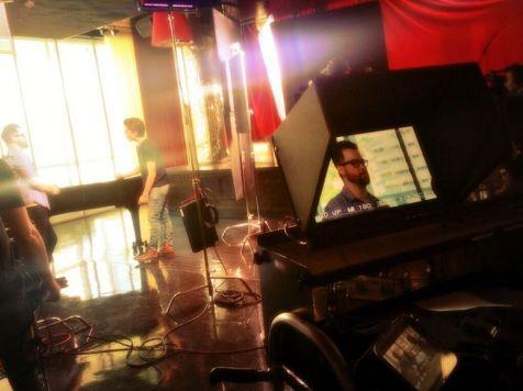 David Cook with Sam Woolf on American Idol