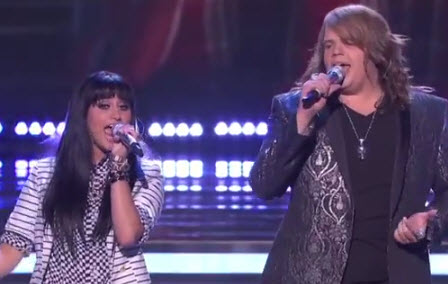 American Idol 2014 Caleb Johnson and Jena Irene