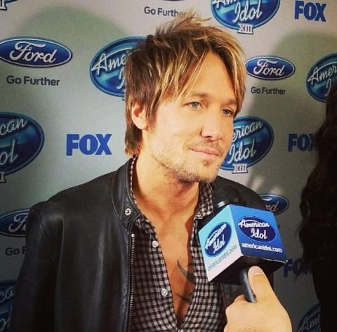 American Idol 2014 Keith urban