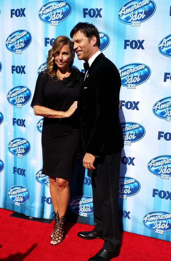 American Idol Finale Harry Connick Jr. and wife Jill