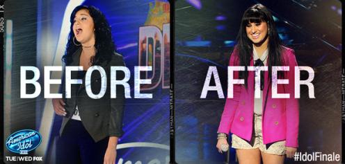 American Idol Finale Jena Irene Style