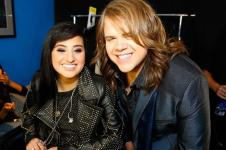 American Idol Finale Jena Irene and Caleb Johnson