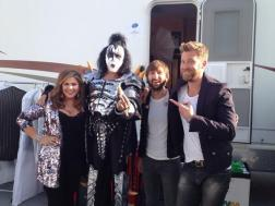 American Idol Finale Lady Antebellum with Gene Simmons of KISS
